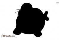Walrus Head Silhouette Vector And Graphics