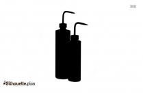 Volumetric Pipette Silhouette Clip Art
