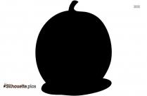 Pear Fruit Silhouette Vector