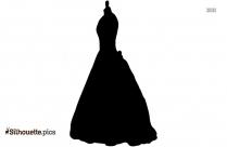 Elegant Women Dress Silhouette