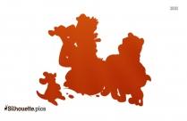 Disney Piglet Clip Art Silhouette Image