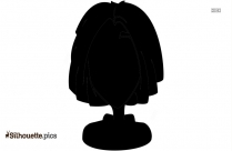 Woman Pointing Finger Silhouette