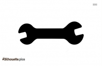 Right Angle Support Brackets Symbol Silhouette