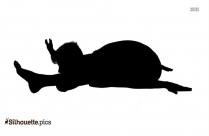 Cartoon Yoga Turtle Drawing Silhouette