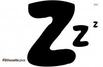 Cartoon Zzz Clipart    Zzz Clip Art Silhouette
