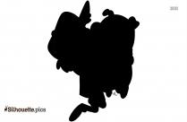 Axolotl Art Silhouette