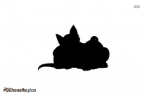 Cat And Dog Cartoon Picture Silhouette