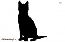 Cat Clipart Silhouette Illustration