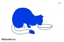 Cartoon Dog Silhouette Clipart Vector