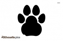 Cat Paw Silhouette