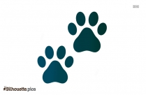 Paws Claws Silhouette Free Vector Art