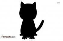 Black Cat Silhouette Clipart