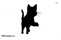 Warrior Cat Drawing Silhouette Vector