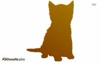 Black Poodle Dog Silhouette Image, Funny Dogs Clip Art