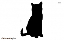 Cat Clipart Silhouette Illustration