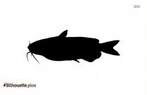Flounder Clip Art Silhouette