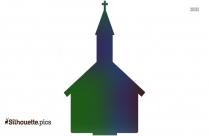 Cartoon Church Silhouette