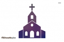 Church Vector Silhouette Outline