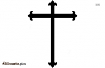Celtic Cross Silhouette Pic