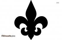 Beta Math Symbol Silhouette Image