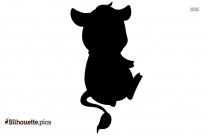 Jersey Calf Clipart Silhouette