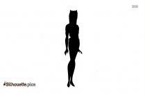 Free Halle Berry Catwoman Silhouette