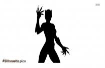 Coco Bandicoot Girl Silhouette