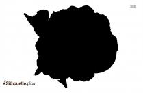 Cauliflower Silhouette Drawing
