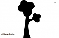 Tropical Coconut Tree Clipart Silhouette
