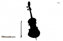 Cello Silhouette Art