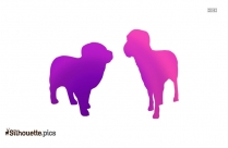 Ox Animal Silhouette Clipart