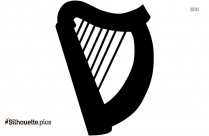Harps Illustration Silhouette