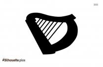 Tambourine Symbol Silhouette