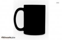Hot Coffee Mug Silhouette
