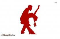 Chacha Dance Silhouette Picture