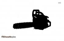Chainsaw Silhouette Clipart