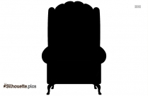 Lawn Chair Silhouette Free Vector Art
