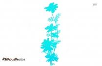 Chamomile Flower Silhouette