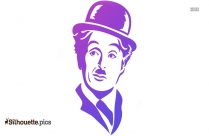 Charlie Chaplin Silhouette Image And Vector