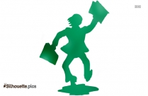 Cheating Person Clipart Silhouette