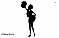 Cheerleader Silhouette Transparent