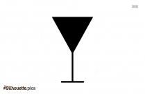 Cheers Cocktail Silhouette Art