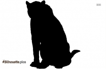 Clipart Of Bloodhound Dogs Silhouette