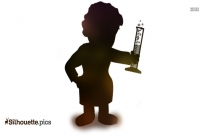 King Koopa Silhouette Clipart