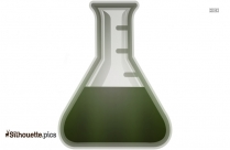 Erlenmeyer Flask Silhouette Clip Art Free Download