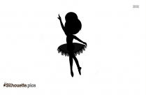 Circus Ballerina Silhouette