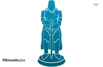 Chess Knight Silhouette