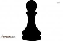 Chess Pawn Silhouette