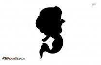 Realistic Mermaid Silhouette, Mermaid Drawings Clip Art