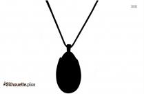 Opalite Earring Logo Silhouette For Download